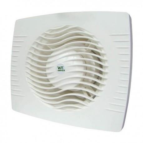 Εξαεριστήρας μπάνιου συστολικός Φ100-Φ120 λευκός 13w We extract 6974
