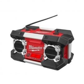 Ραδιόφωνο χώρου εργασίας με MP3 σύνδεση C12-28 DCR MILWAUKEE χωρίς μπαταρία 4933416345