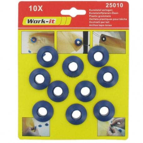 Τρουκς πλαστικά σετ 10τεμ WORK IT 25010