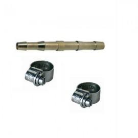 Σύνδεσμος απλός για σωλήνα αέρος NW 9mm & 2 σφιγκτήρες Einhell 4139320