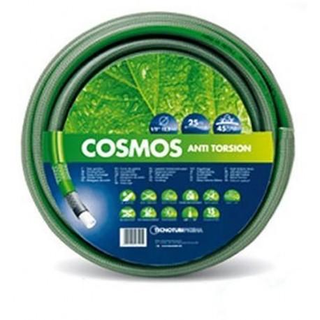 """Λάστιχο Ποτίσματος 5/8"""" 6 στρώσεων Πράσινο κουλούρα COSMOS"""