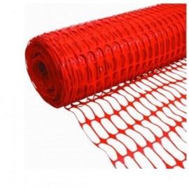 Πλέγμα Οδοσήμανσης 1μέτρο ύψος Πορτοκαλί χρώμα OEM