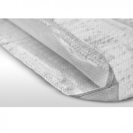Σακιά Πλαστικά Λευκά Στριφωμένα 55x100cm