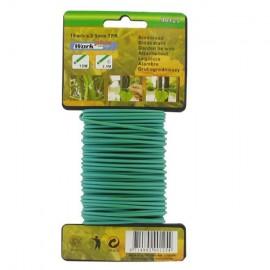 Σύρμα πλαστικοποιημένο πράσινο 2.5 mm πάχος 10m WORK IT 90125