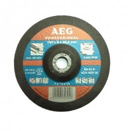 Δίσκος Λείανσης μετάλλου 180 Χ 6 Χ 22,2mm SG 27 P AEG