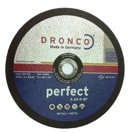 Δίσκοι Κοπής Μετάλλου 230Χ3Χ22,23mm A 24 R-BF PERFECT DRONCO