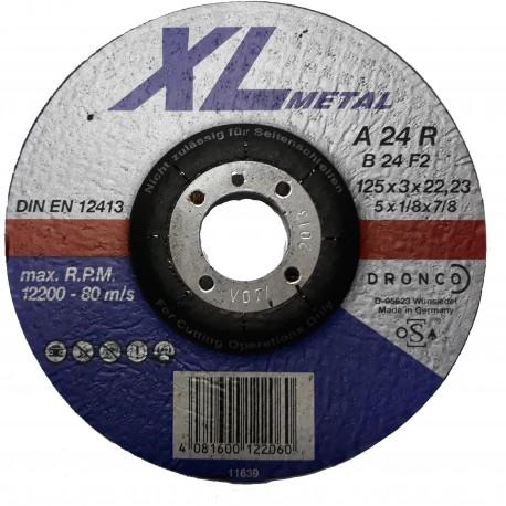 Δίσκος κοπής μετάλλου 125x3x22.23mm XL Metal Perfect A 24 R-B 24 F2 DRONCO