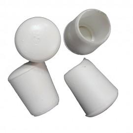 Λάστιχα PVC Φ12 εξωτερικά λευκά για Φερ-φροζέ Σετ 10τεμ OEM