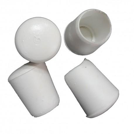 Λάστιχα PVC Φ12 εξωτερικά λευκά για Φερ-φροζέ
