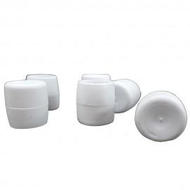 Λάστιχα PVC Φ21 εξωτερικά λευκά για Φερ-Φροζέ Σετ 10τεμ OEM