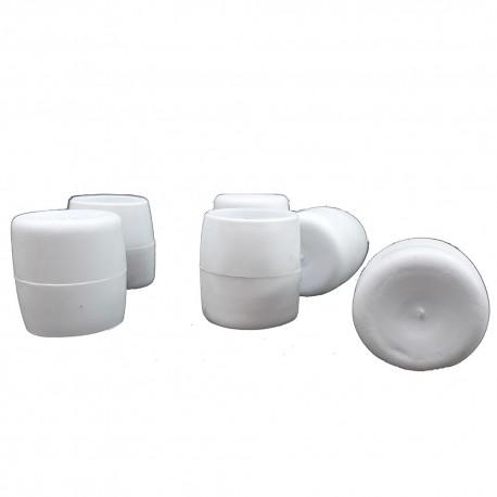 Λάστιχα PVC Φ21 εξωτερικά λευκά για Φερ-Φροζέ