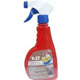 Καθαριστικό σπρέι για μαρκαδόρους και graffity 500ml F-27 Χρωμοδομή