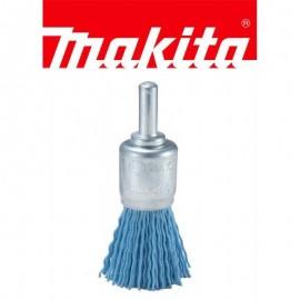 Συρματόβουρτσα πινέλο νάυλον Φ30 με αξονάκι 6mm Makita D-45733