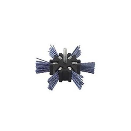 Συρματόβουρτσα νάυλον Φ100 με αξονάκι 6mm PG 497.60