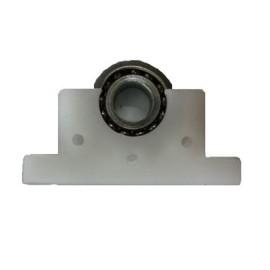 Ρουλεμάν μηχανισμού ρολών Φ28 μεταλλικό με πλαστική βάση OEM