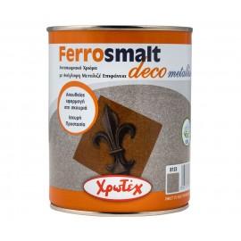 FERROSMALT DECO Metallise 8138 Γκρι Μπλε 750ml ΧΡΩΤΕΧ