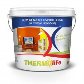 STEP THERMOLIFE 750ml Λευκό πλαστικό θερμομονωτικό χρώμα Χρωμοδομή