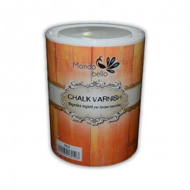 Βερνίκι νερού Satine Νο163 Chalk Varnish 375ml MONDO BELLO TETRALUX