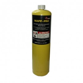 Ανταλλακτική Φιάλη αερίου κίτρινη Mapp-Pro JB