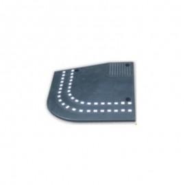 Ράμπα πεζοδρομίου ελαστική ακριανό κομμάτι 7cm PARK-DH-PC-R