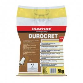 Τσιμεντοκονίαμα ρητινούχο επισκευαστικό DUROCRET Λευκό 5kg ISOMAT