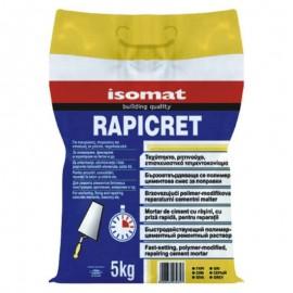 Τσιμεντοκονίαμα επισκευαστικό ταχύπηκτο RAPICERT Γκρι 5kg ISOMAT