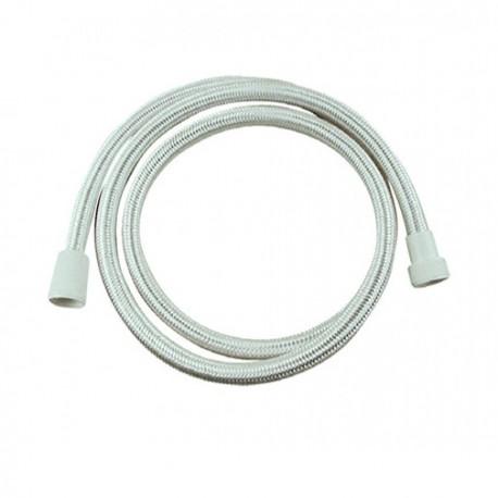 Σπιράλ λουτρού 1,5m Λευκό πλεκτό Viospiral 386