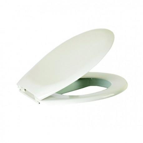 Κάλυμμα λεκάνης Λευκό No1 ABS βαρέως τύπου IDEAMIX
