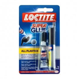 Κόλλα Στιγμής για πλαστικά Super Attak All Plastics Loctite