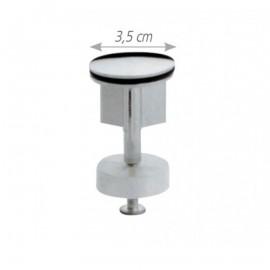 Τάπα για αυτόματη βαλβίδα νιπτήρος μικρή 3,5cm OEM