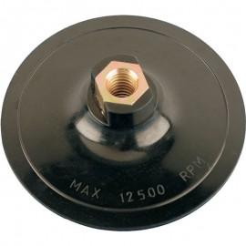 Βάση γωνιακού τροχού πλαστική για γυαλόχαρτα velcro ερασιτεχνική σειρά Smirdex 946