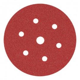 Δίσκος λείανσης Φ150 Velcro με 6+1 τρύπες Smirdex 330
