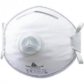 Μάσκα μιας χρήσης με βαλβίδα M1100V DELTA PLUS