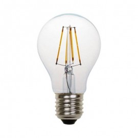 Λάμπα LED κοινή FILAMENT A60 E27 2700K γυάλινη Eurolamp