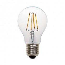 Λάμπα LED κοινή FILAMENT A60 E27 2700K γυάλινη ντιμαριζόμενη Eurolamp