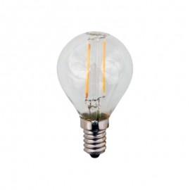 Λάμπα LED σφαιρική FILAMENT G45 E14 2700K γυάλινη Eurolamp