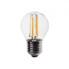 Λάμπα LED σφαιρική FILAMENT G45 E27 2700K γυάλινη Eurolamp