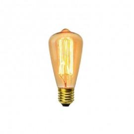 Λάμπα Edison Vintage αχλαδωτή ST64 40W E27 240V VITOONE