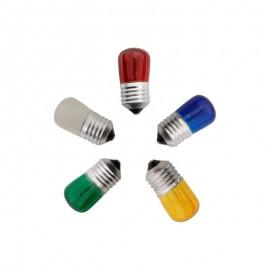 Λάμπα Νυκτός E27 5W 240V σε όλα τα χρώματα EUROLAMP