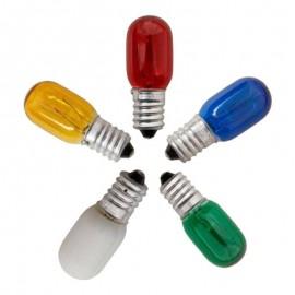 Λάμπα Νυκτός E14 5W 240V σε όλα τα χρώματα EUROLAMP