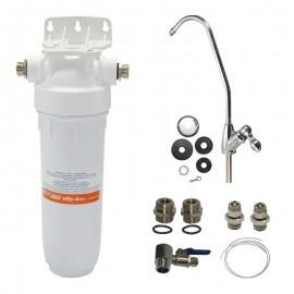 """Συσκευή Φίλτρου Νερού DP Μονό 1/2' 10"""" με βρυσάκι Atlas Filtri 15008"""