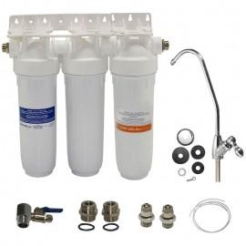 Σύστημα φιλτραρίσματος για Αρσενικό συσκευή DP TRIO με βρυσάκι και 3 ανταλλακτικά Atlas