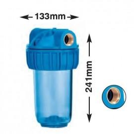 """Συσκευή φίλτρου νερού  JUNIOR PLUS 3P 7"""" με παροχή 3/4"""" Atlas Filtri 14001"""