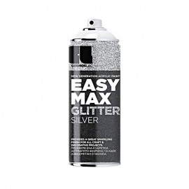 Σπρέι Glitter Silver Easy Max No910 400ml COSMOS LAC