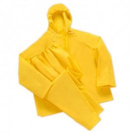 Αδιάβροχο κουστούμι κίτρινο νιτσεράδα