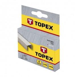 Δίχαλα 53/6 καρφωτικού 1000τεμ. TOPEX