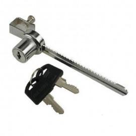 Κλειδαριά βιτρίνας Νο 140 Νίκελ KG-027-014 OEM
