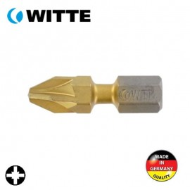 "Μύτη PZ3 1/4"" 25mm TIN bitflex WITTE 4927047"