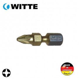 "Μύτη PZ1 1/4"" 25mm TIN bitflex WITTE 4927045"