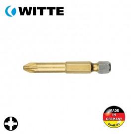 """Μύτη PZ1 1/4"""" 50mm TIN WITTE 4927545"""